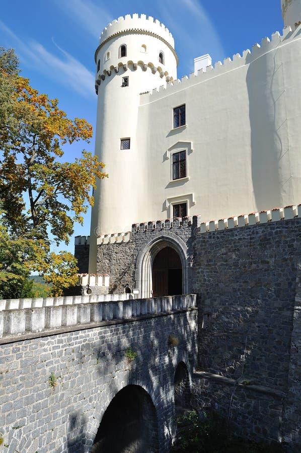 orlik grodowa czeska republika zdjęcie stock