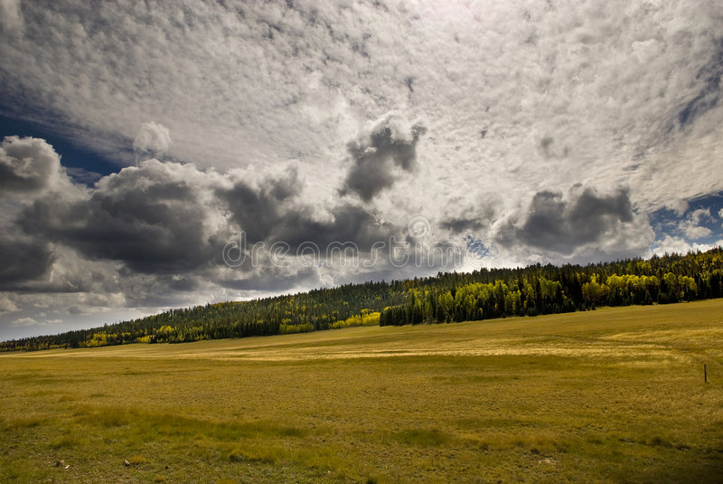 Orlo del nord Cloudscape immagini stock