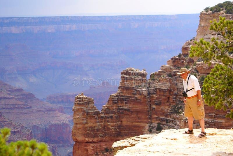Orlo del nord del grande canyon immagini stock