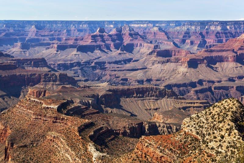 Orlo del sud del Grand Canyon immagini stock libere da diritti