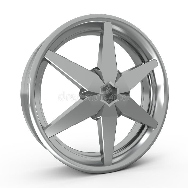 Orlo della lega dell'automobile royalty illustrazione gratis