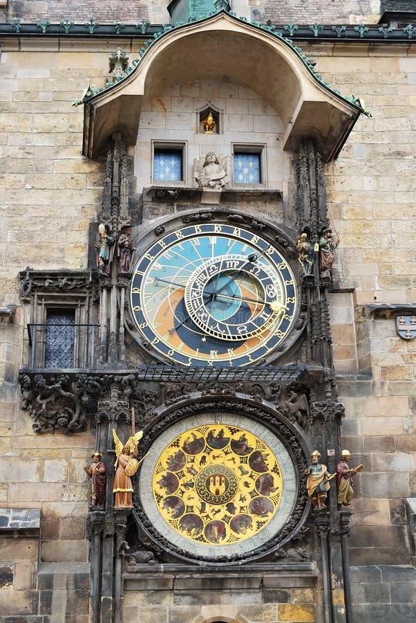 orloj prague стоковое изображение