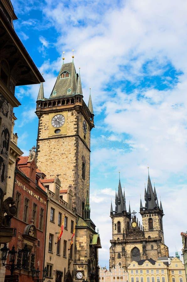 Download Orloj Tower Prague, Czech Republic Stock Photo - Image: 25947126