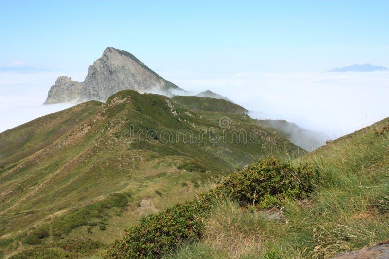 Orlu peak in Pyrenees, France royalty free stock images