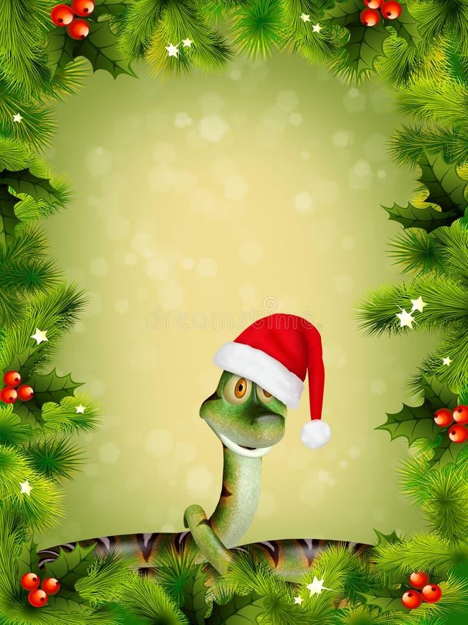 Download Orm för nytt år stock illustrationer. Illustration av lampor - 27279650