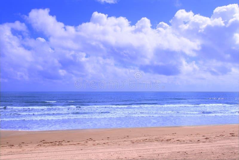 Ormond plaża - Floryda obrazy royalty free