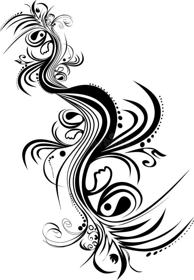 Ornament royalty free illustration