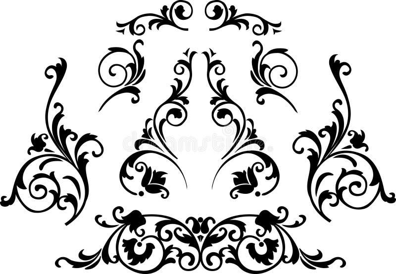 Ornament royalty-vrije illustratie