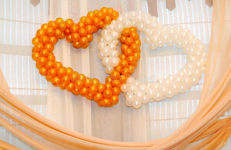 Download Ornament from balloons stock photo. Image of yellow, holiday - 16692236
