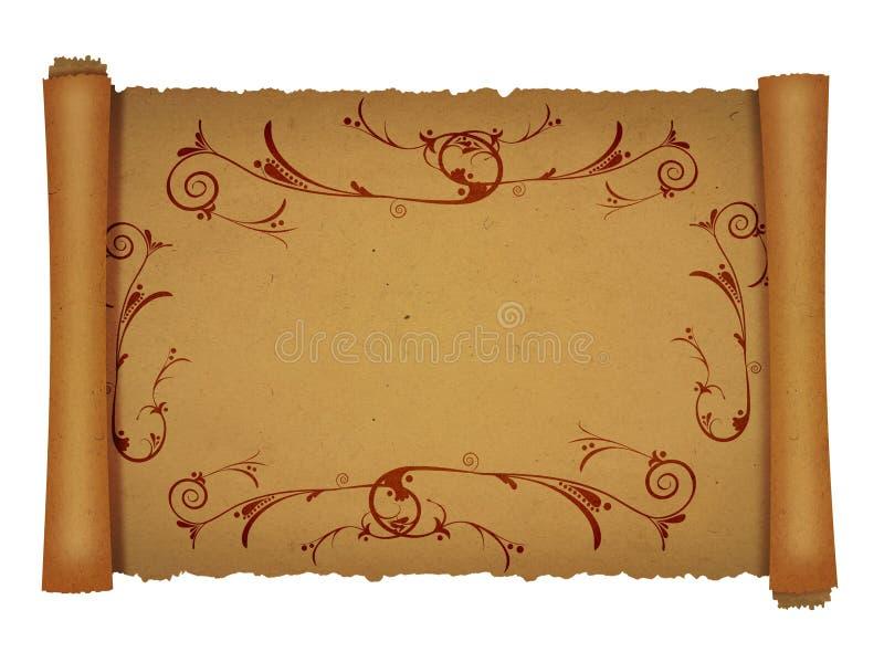 Ornament a beira ilustração do vetor