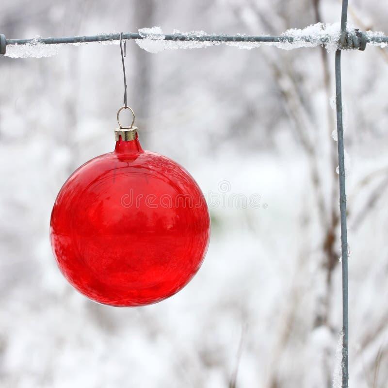ornament czerwień obraz stock