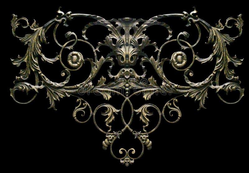Ornament, decor, decoratieelement stock afbeeldingen