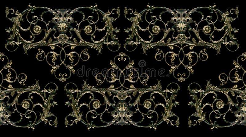 Ornament, decor, decoratieelement royalty-vrije stock foto