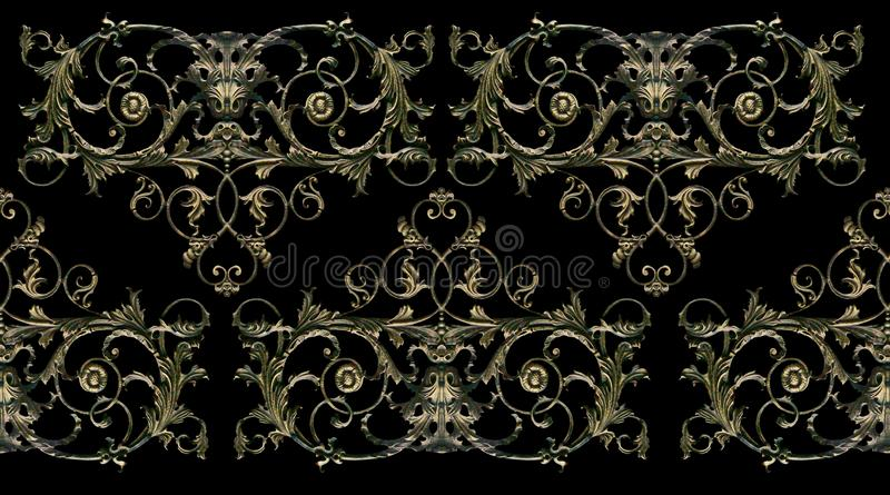 Ornament, decor, decoration element. royalty free stock photo