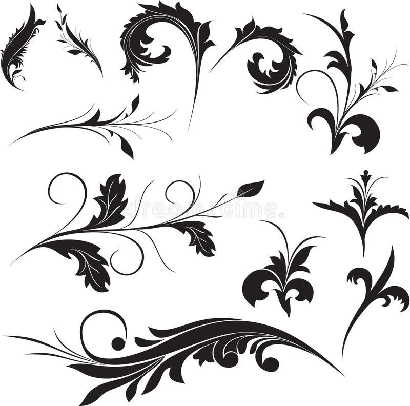 Download Ornament Elements Collection Stock Images - Image: 9571294