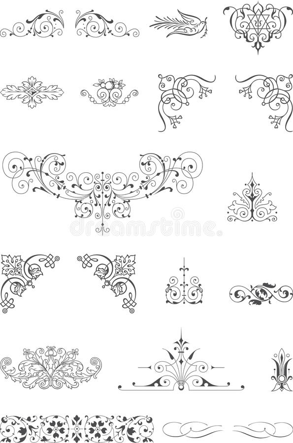 Download Ornament elements stock vector. Illustration of quality - 33253470