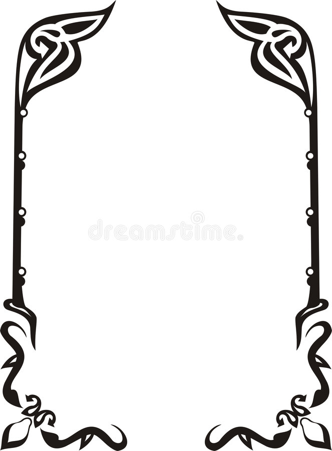Free Ornament Frame Royalty Free Stock Images - 5881059