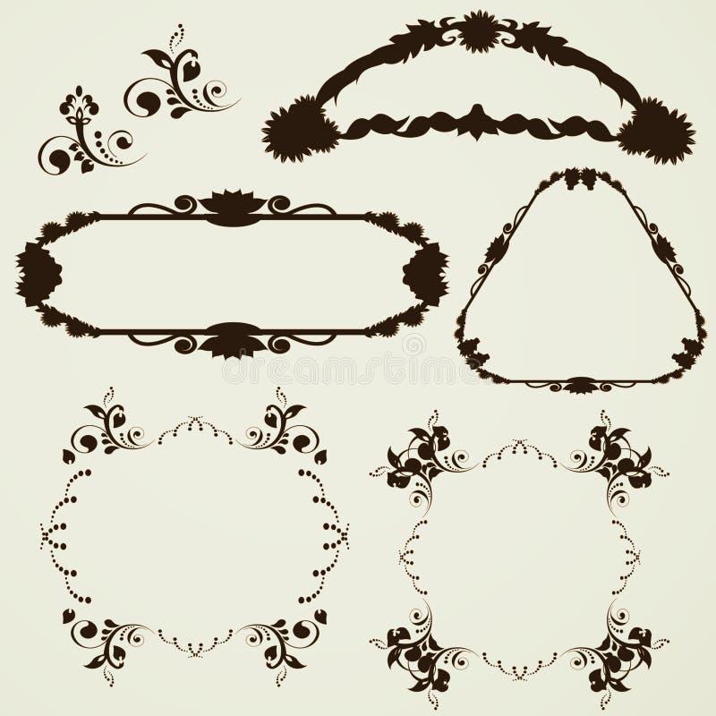 Download Ornament frames stock vector. Image of book, elegant - 22468046