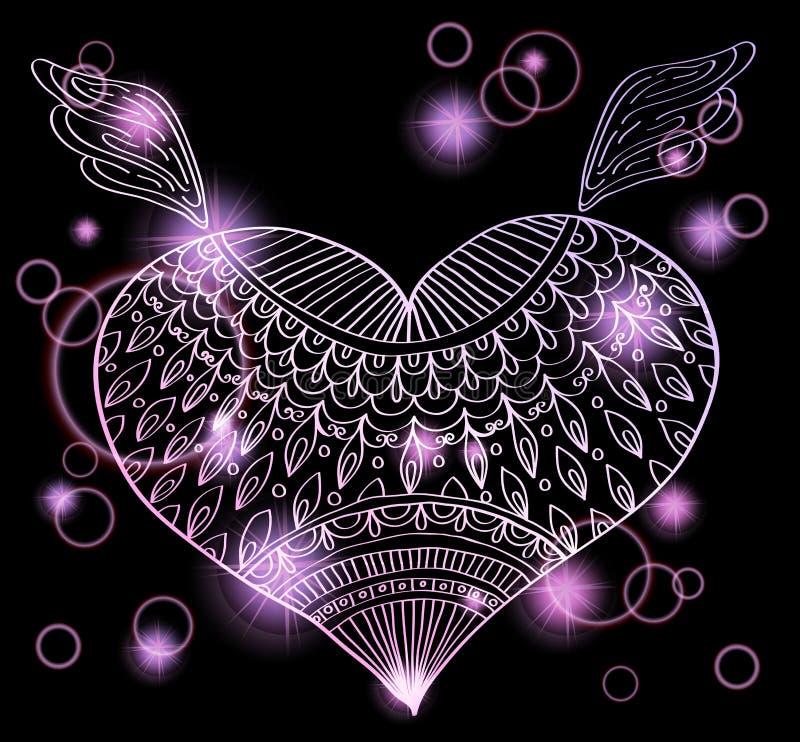 Download Ornament Heart Shape For Your Design Stock Illustration - Image: 26998813