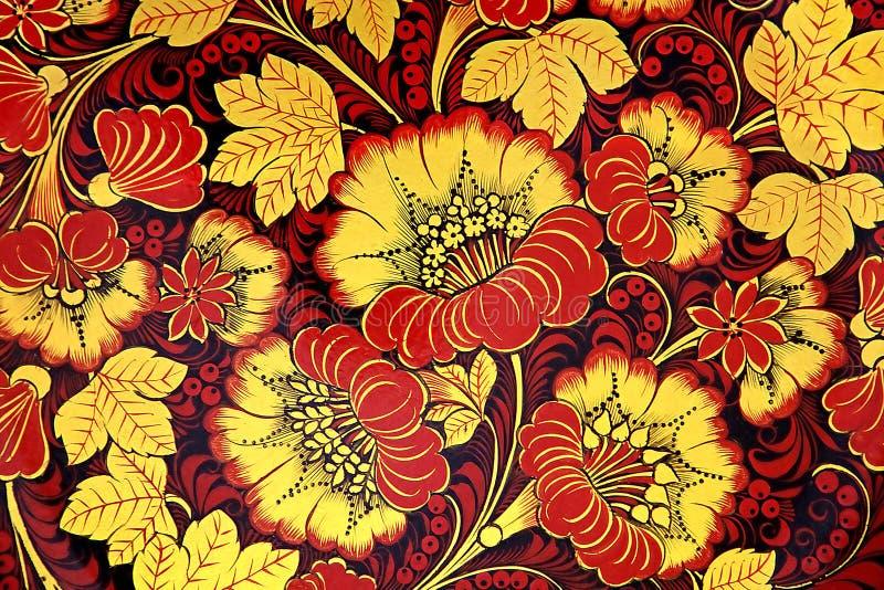 ornament kwiecisty obrazy stock