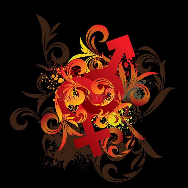 ornament kwiecisty ilustracja wektor