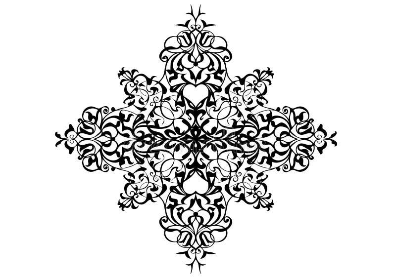 Ornament w wektorach royalty ilustracja