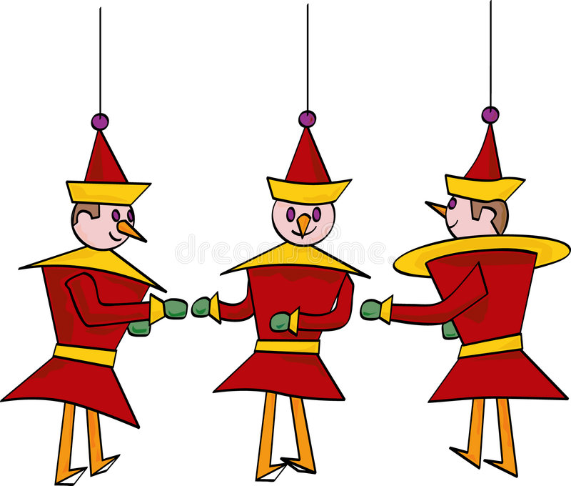 ornament zabawka ilustracji