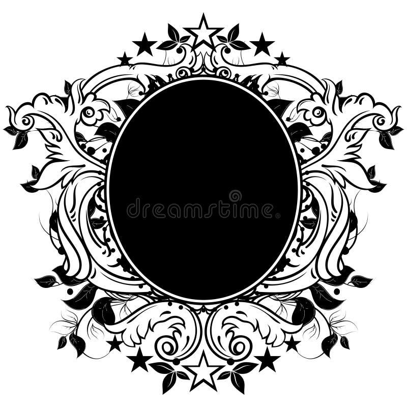 Ornamentacyjna osłona ilustracji