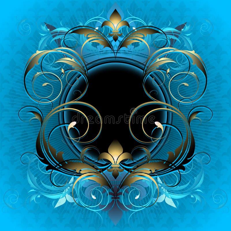ornamentacyjna osłona ilustracja wektor