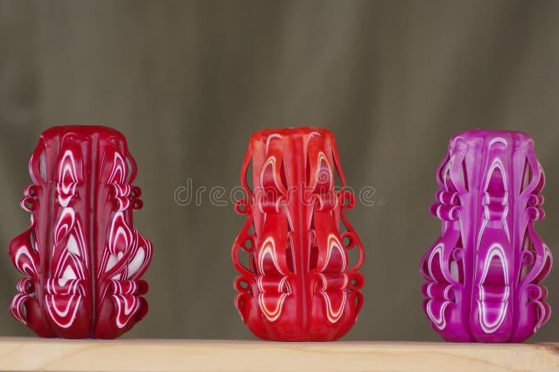 Ornamentacyjni candels zdjęcie royalty free