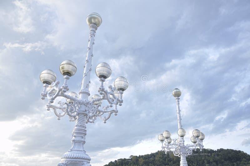 Ornamentacyjni streetlights obrazy royalty free