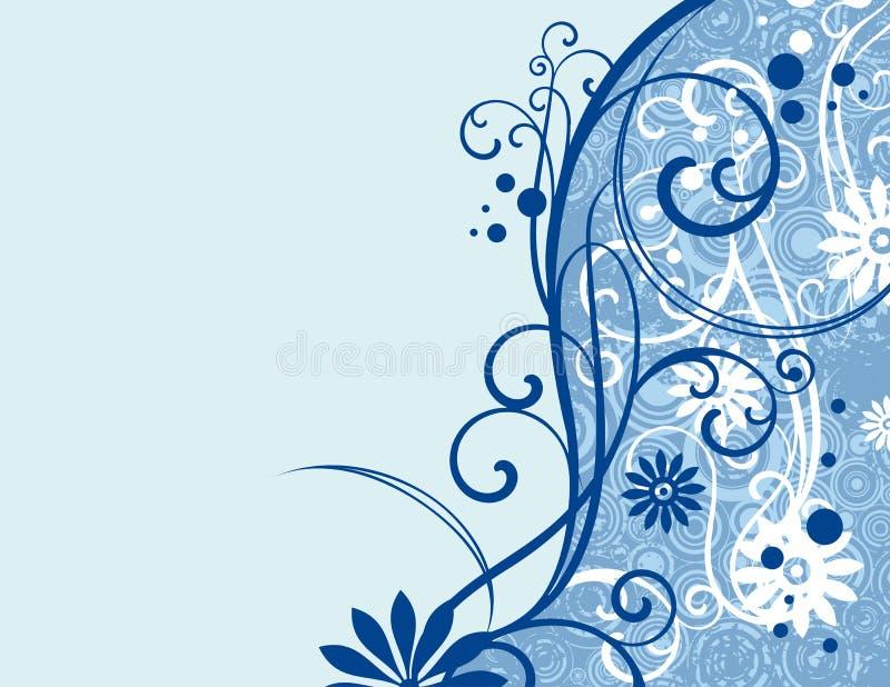 ornamentacyjny kwiecisty projektu ilustracji
