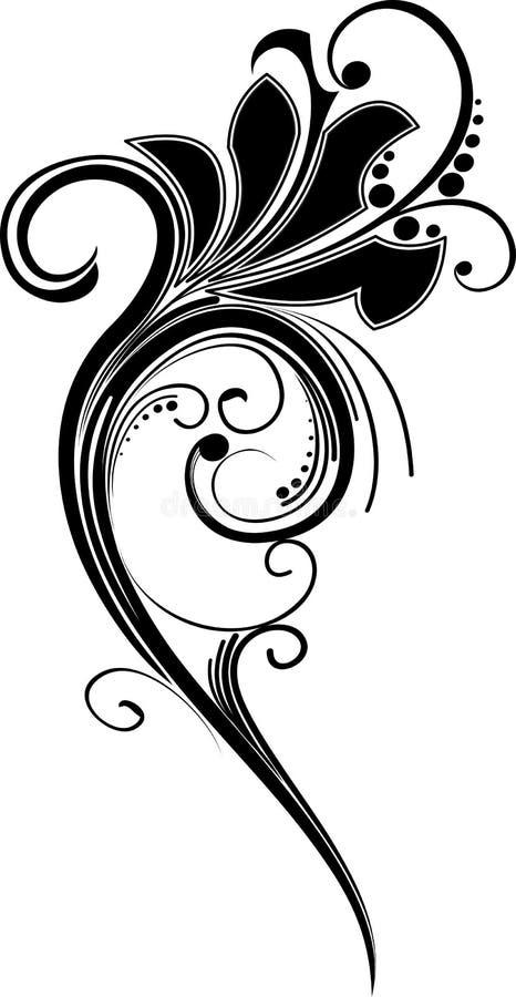 ornamental цветка стоковые изображения