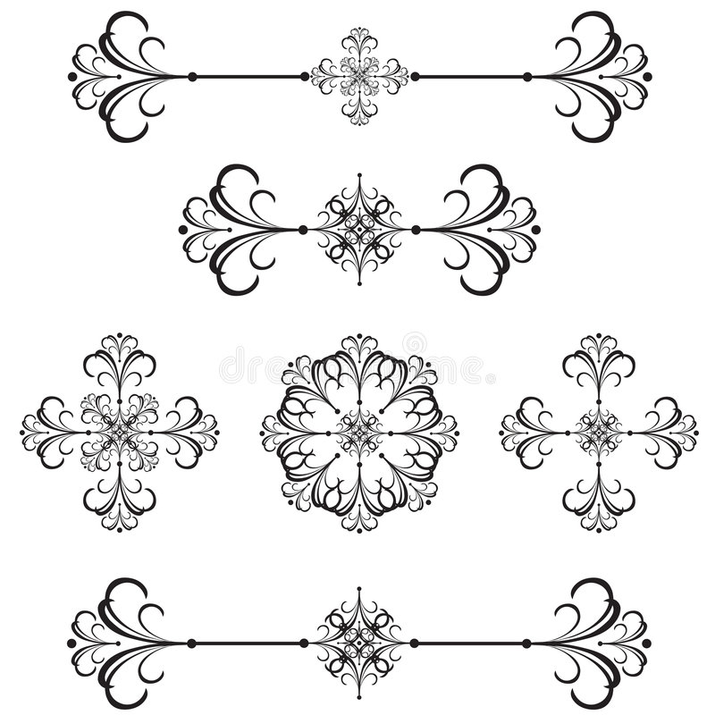 Download Ornamental Bar Line Divider 40 Stock Photography - Image: 2745132