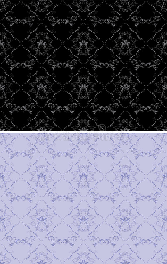 Download Ornamental Black And Lilac Backgrounds Stock Photo - Image: 26856720