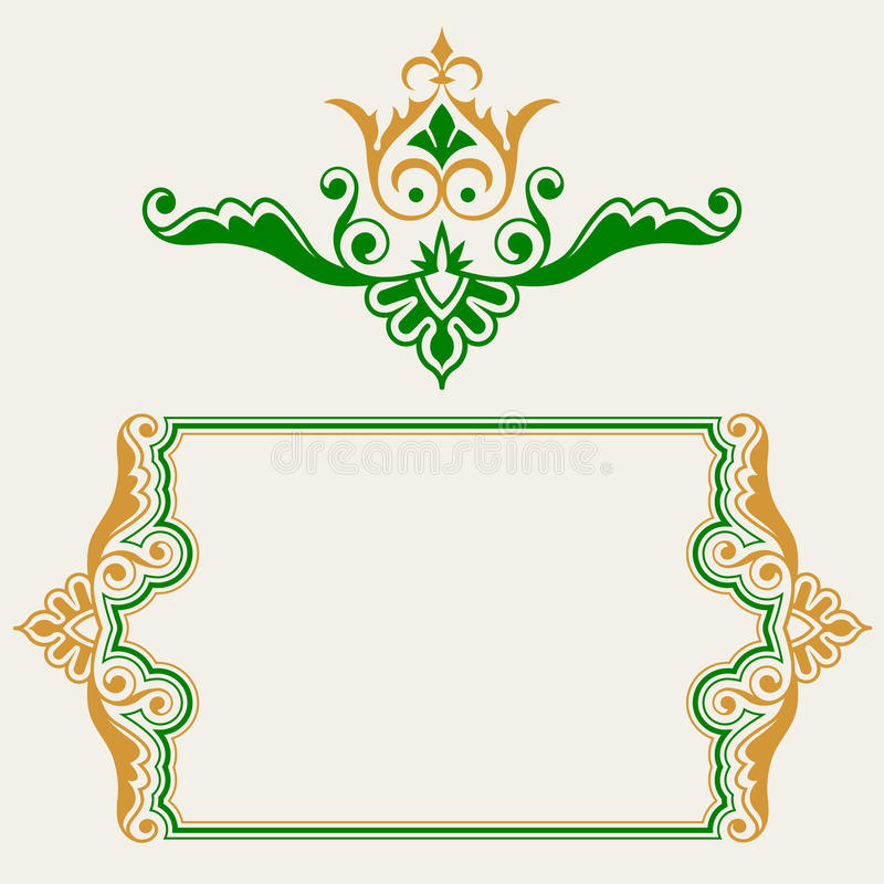 Download Ornamental Border Collection Stock Vector - Image: 13094587