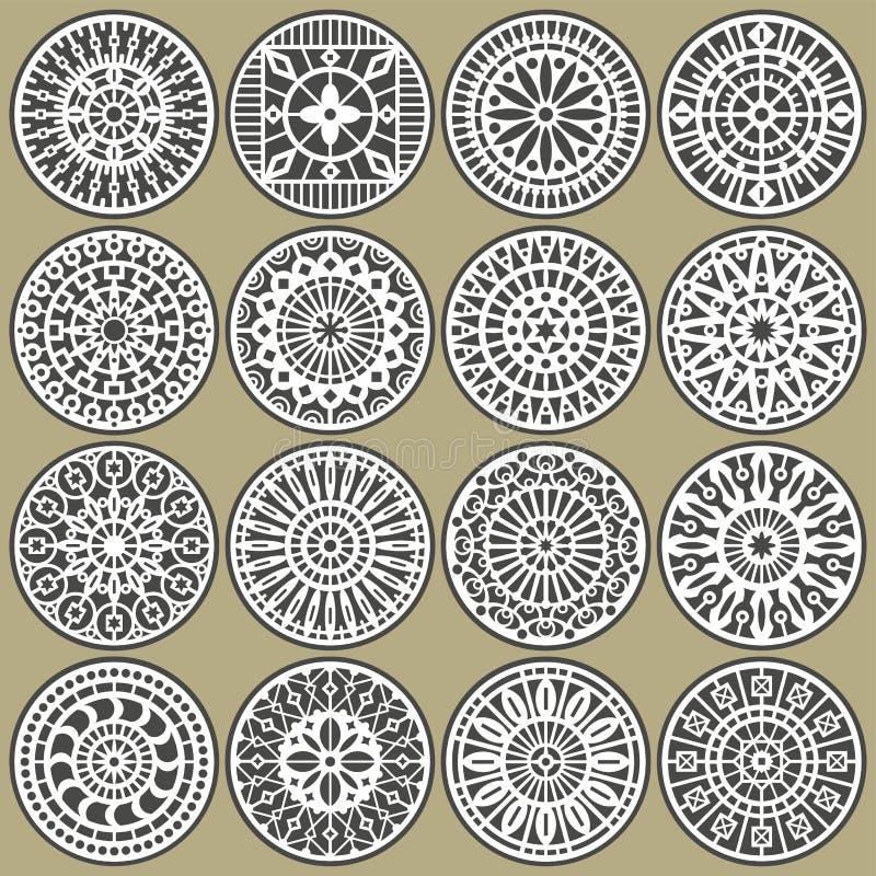 Download Ornamental Circles Decors Stock Images - Image: 23058984
