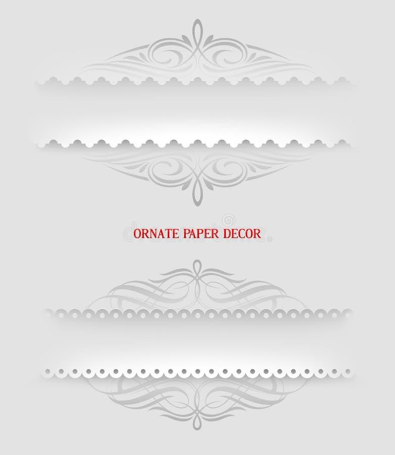 Download Ornamental Decorative Paper Frames Stock Vector - Image: 30647636