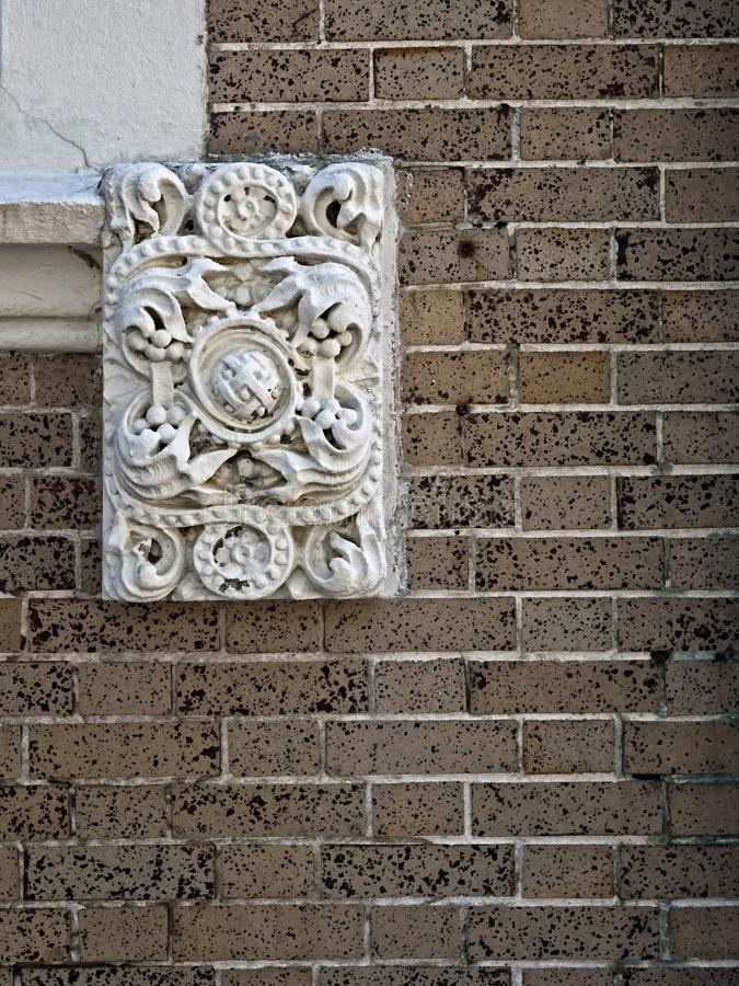 Free Ornamental Design At A Corner Of A Window Stock Photography - 122935342