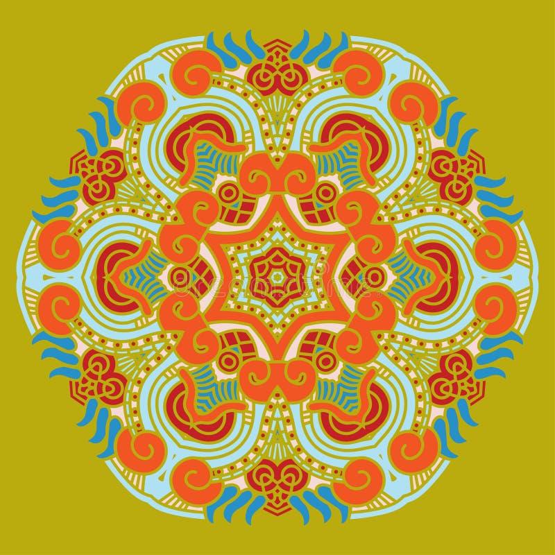 Download Ornamental Ethnicity Pattern Stock Vector - Illustration of pattern, magic: 26226052