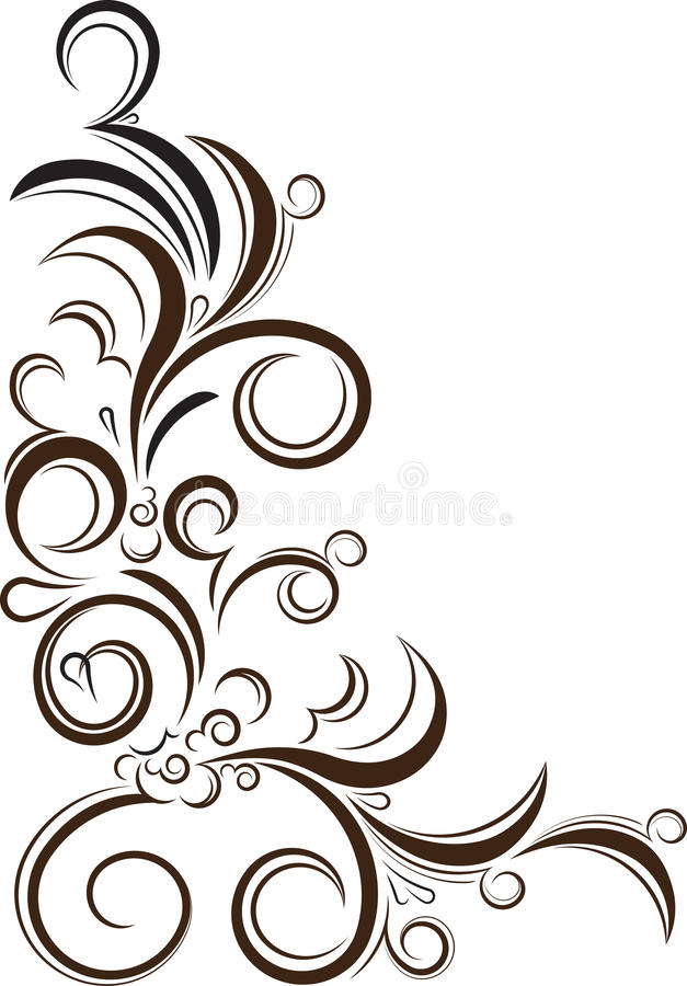ornamental floral corner vector illustration for your design or rh dreamstime com ornamental victorian metal roof ridge ornamental victorian metal roof ridge