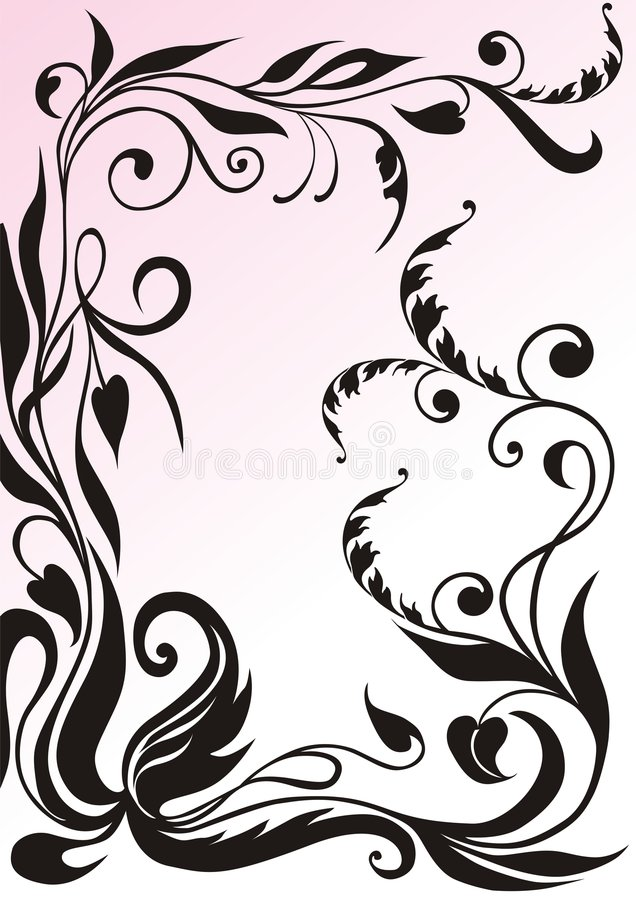 Download Ornamental frame stock illustration. Illustration of nature - 4444833