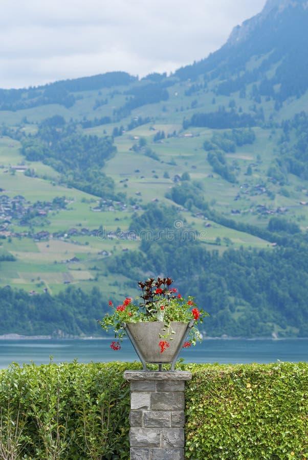 Ornamental Garden stock image