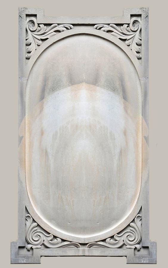 Ornamental geschnitzter Stein lizenzfreie stockfotografie