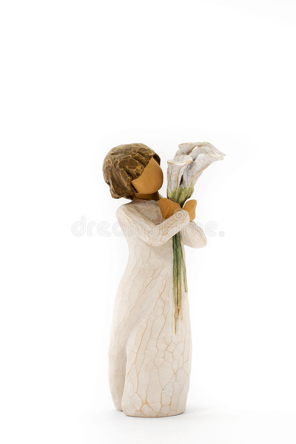 Ornamental girl royalty free stock photos