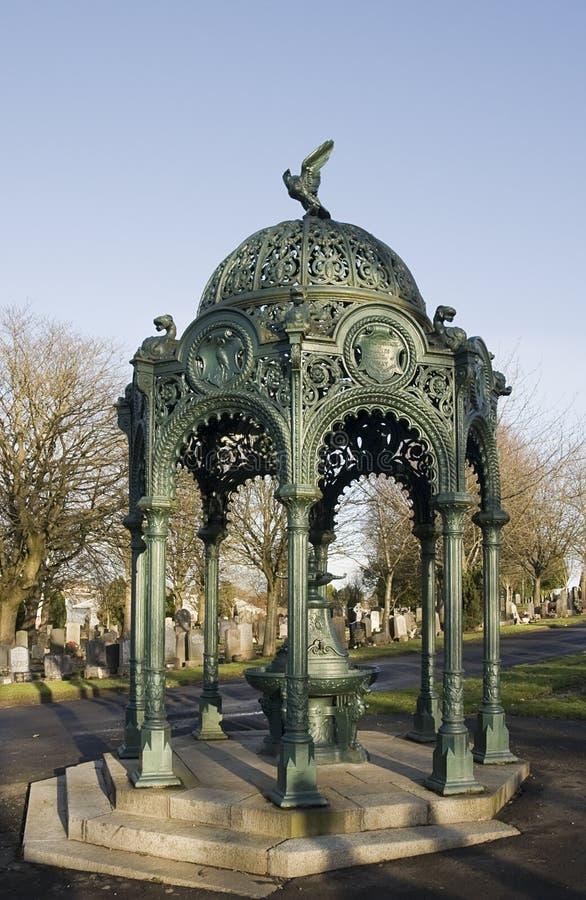 Ornamental ironwork fountain