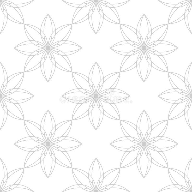 ornamental kwiecisty wz?r royalty ilustracja