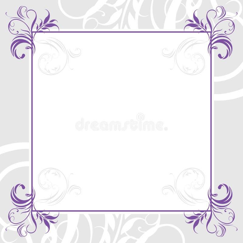 Ornamental lilac frame