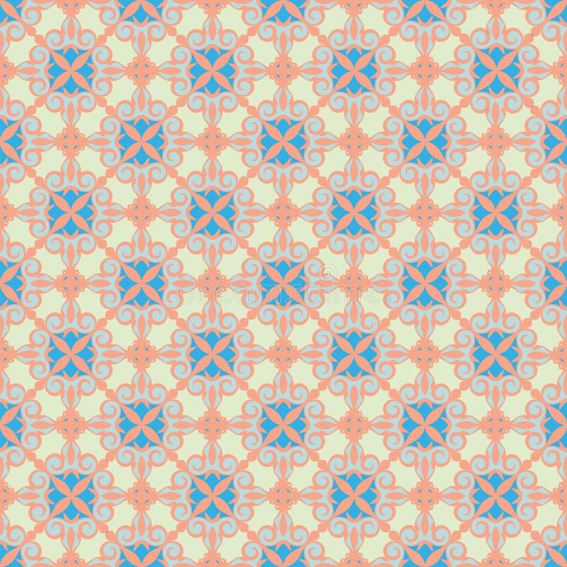 Download Ornamental pattem, pastel stock vector. Image of repeating - 14801879