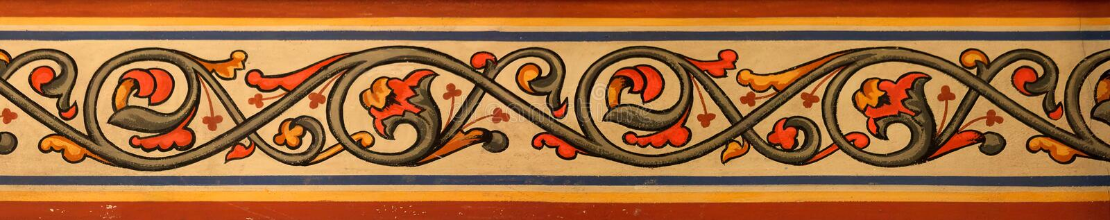 Download Ornamental Pattern In The Church Stock Image - Image: 17519441